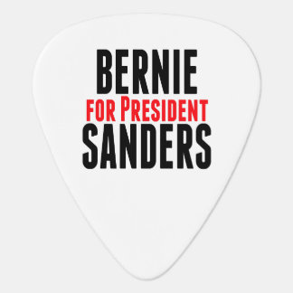 Bernie Sanders For President Guitar Pick