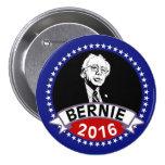 Bernie Sanders for President in 2016 3 Inch Round Button