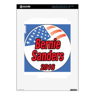 Bernie Sanders for president in 2016 Decal For iPad 3
