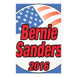 Bernie Sanders for president in 2016 Stationery