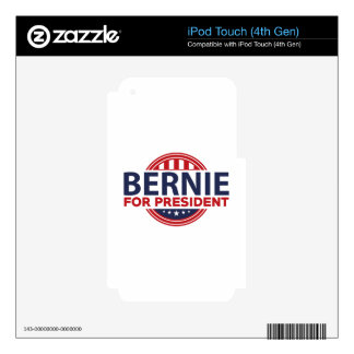 Bernie Sanders For President iPod Touch 4G Skin