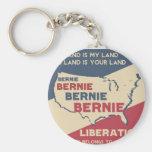 Bernie Sanders for President Basic Round Button Keychain