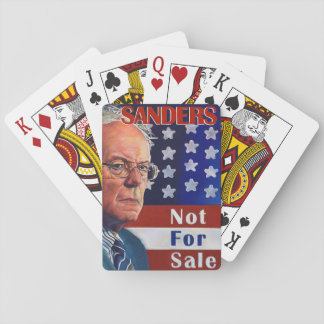 Bernie Sanders for President Playing Cards