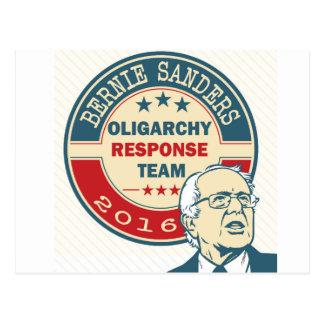 Bernie Sanders for President Postcard