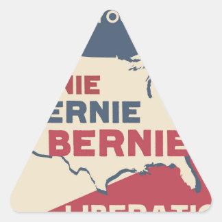 Bernie Sanders for President Triangle Sticker