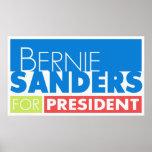Bernie Sanders for President V4 Poster