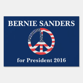 Bernie Sanders for President Yard Sign