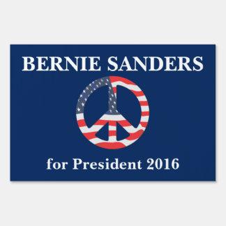 Bernie Sanders for President Yard Sign