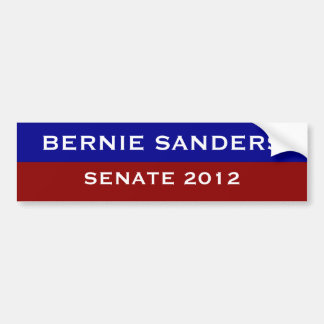 Bernie Sanders for Senate Bumper Sticker
