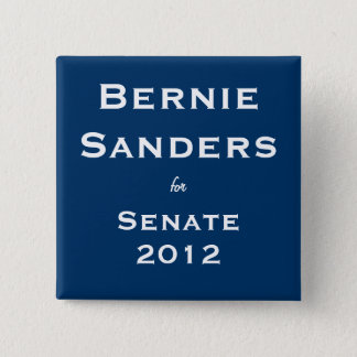Bernie Sanders for Senate Button