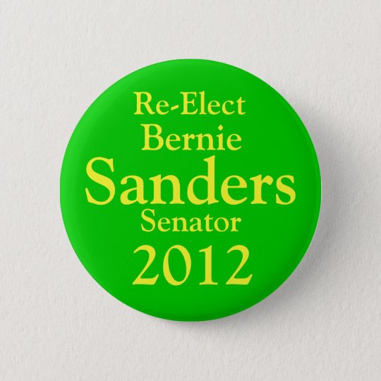 Bernie Sanders for US Senate Button