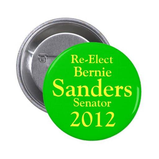 Bernie Sanders for US Senate Pinback Button