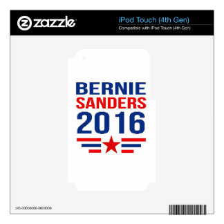 Bernie Sanders iPod Touch 4G Decals