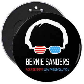 Bernie Sanders - Join The Revolution Pinback Button