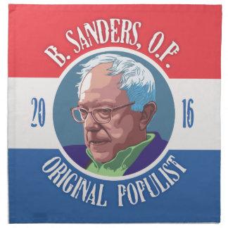 Bernie Sanders, O.P. Cloth Napkin
