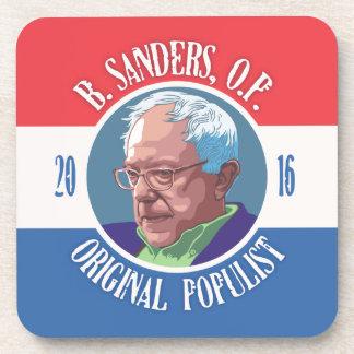 Bernie Sanders, O.P. Drink Coaster