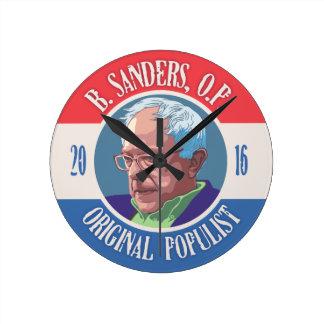 Bernie Sanders, O.P. Round Clock