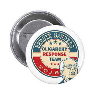 Bernie Sanders - Oligarchy Response Team Button