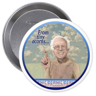 Bernie Sanders plants the seeds in Iowa 2016 Button