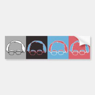 Bernie Sanders Pop Art Designer - Bernie Sanders - Bumper Sticker