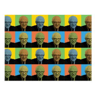 Bernie Sanders Pop-Art Postcard