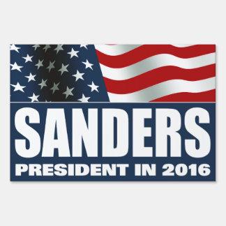 Bernie Sanders President 2016 American FLAG Yard Sign