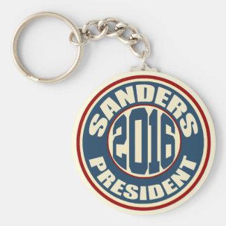 Bernie Sanders President 2016 Basic Round Button Keychain