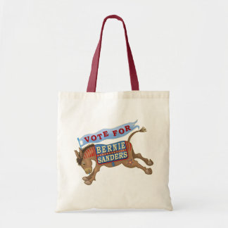 Bernie Sanders President 2016 Democrat Donkey Tote Bag