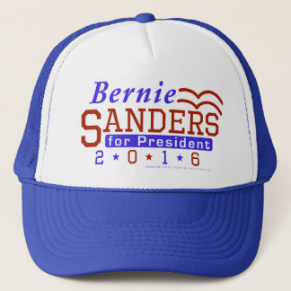 Bernie Sanders President 2016 Election Democrat Trucker Hat