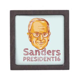 Bernie Sanders President 2016 Keepsake Box