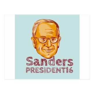 Bernie Sanders President 2016 Postcard
