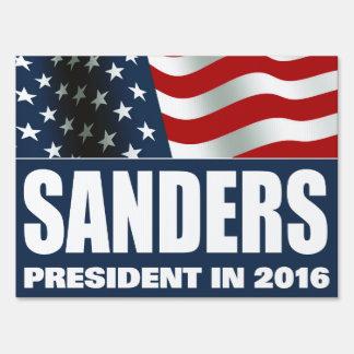 Bernie Sanders President 2016 Yard Sign