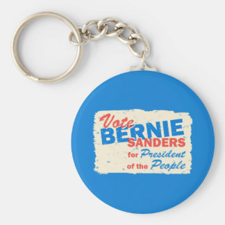 Bernie Sanders President of the People V5 Basic Round Button Keychain