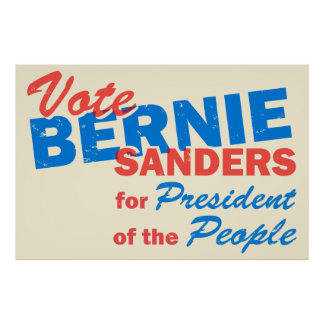 Bernie Sanders President of the People V5 Poster