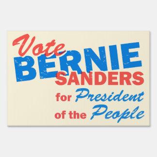 Bernie Sanders President of the People V5 Sign