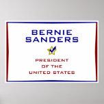 Bernie Sanders President USA V2 Poster
