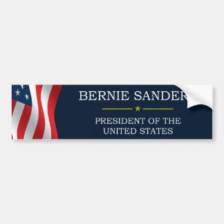 Bernie Sanders President V3 Car Bumper Sticker