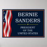 Bernie Sanders President V3 Poster