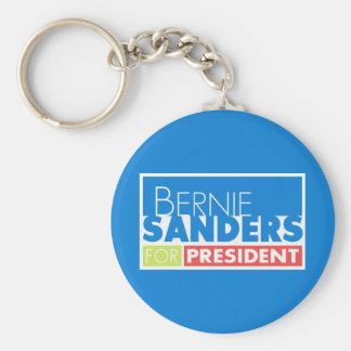 Bernie Sanders President V4 Basic Round Button Keychain
