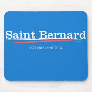 "Bernie Sanders ""Saint Bernard"" Mousepad"