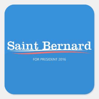 "Bernie Sanders ""Saint Bernard"" Sticker Sheet"