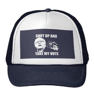 Bernie Sanders - Shut Up & Take My Vote Trucker Hat
