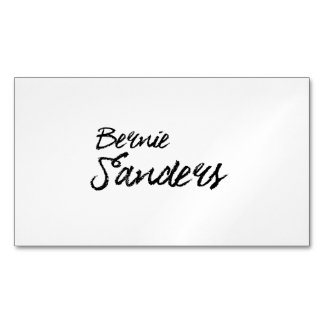 Bernie Sanders Signature Magnetic Business Cards (Pack Of 25)
