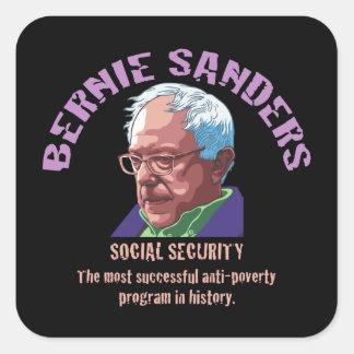 Bernie Sanders SSI Square Sticker
