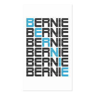 BERNIE sanders textStacks Double-Sided Standard Business Cards (Pack Of 100)