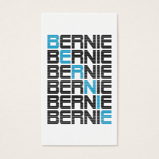 BERNIE sanders textStacks Business Card