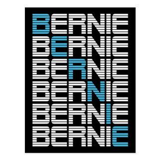 BERNIE sanders textStacks Postcard