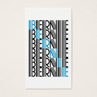 BERNIE sanders textual Business Card