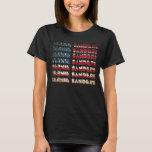 Bernie Sanders TShirts USA Flag | Retro T-Shirts