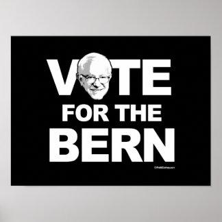 Bernie Sanders - Vote for the Bern - -  Political  Poster